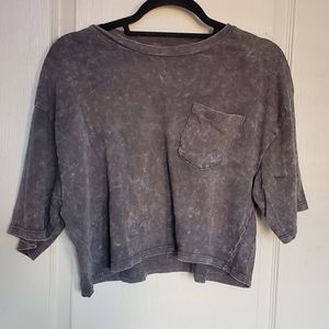 Topshop Boxy Cropped tee